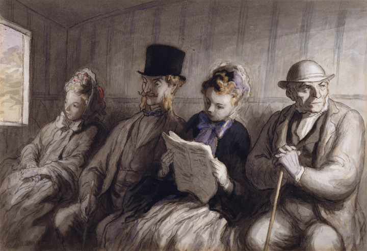 Honoré_Daumier_-_The_First_Class_Carriage_-_Walters_371225_kl
