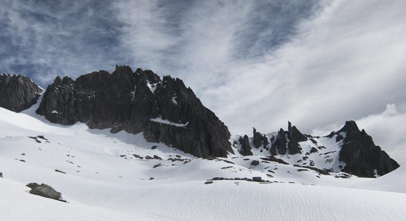 Gross Bielenhorn und Sidelenhütte